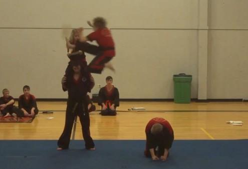 Karate Tournament Demo 2013 - Integrity Martial Arts Spokane