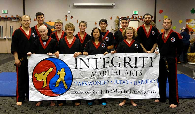Integrity Martial Arts Taekwondo Demonstration Team