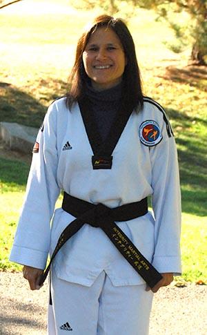 Taekwondo Instructor - Kathy Armstrong